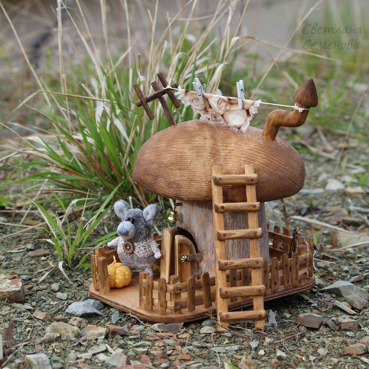 ждут домики грибы фото каркас стрелки так