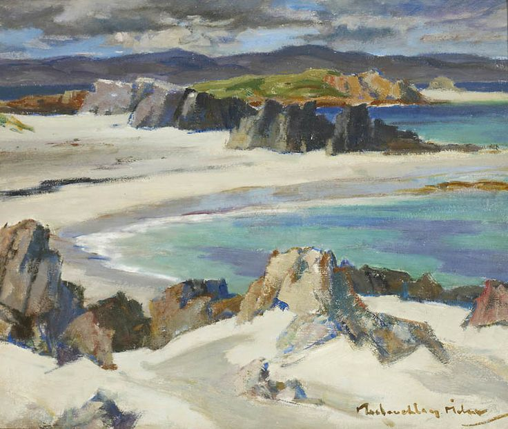 Iona, The South End by John Maclauchlan Milne (Scottish 1886-1957)