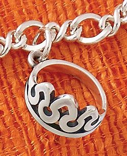 Summer Collection - Tiara Charm shown on Medium Twist Chain #JamesAvery