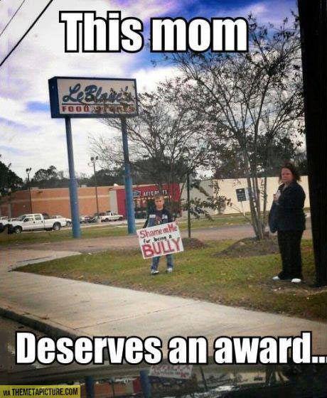 World's best mom…