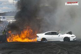 FEAR Summernats burnout fire
