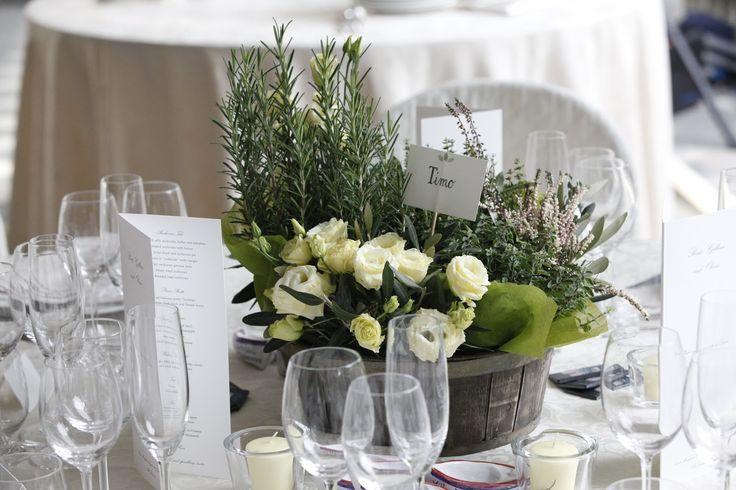 Matrimonio Tema Erbe Aromatiche : Oltre idee su centrotavola di erbe per matrimonio