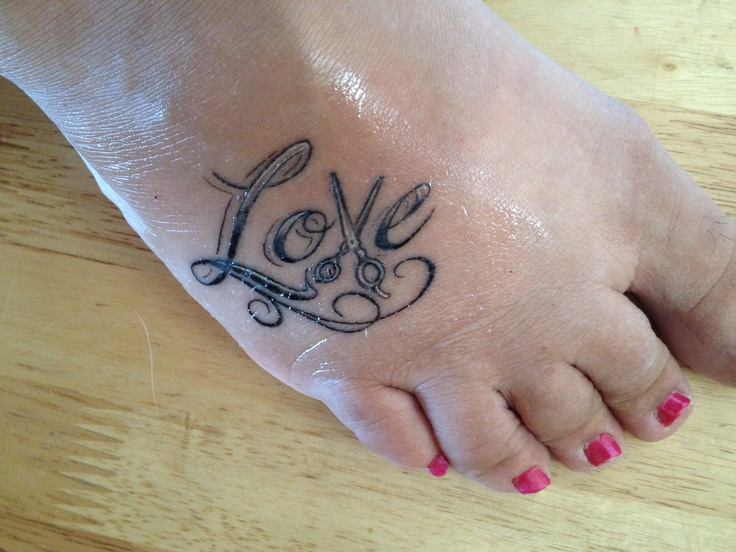 Shear Love Tattoo Tattoos Pinterest Shearing