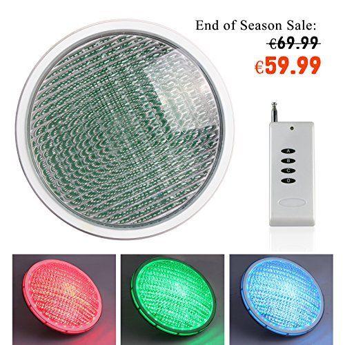 Marvelous Roleadro W Par LED Submersibles Lampe de Piscine IP Imperm able RGB V Led Multicolore Projecteur Piscine