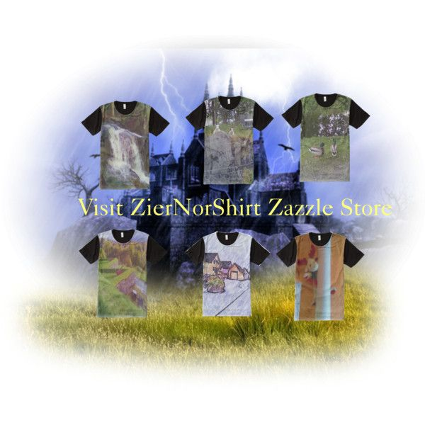 Take a look at ZierNorShirt Zazzle Store. Nature and t-shirt by ziernor on Polyvore featuring art