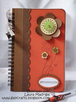 Tarjetas Boutique Galy Crafts: Cuadernos y folders decorados