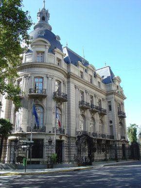 Palacio Ortiz Basualdo - Embajada de Francia en Buenos Aires