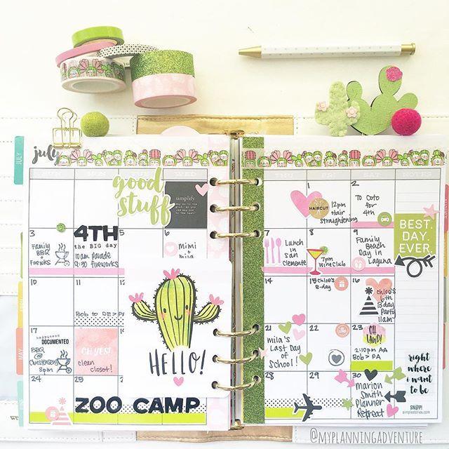 It's hard to believe It's the last week of July   #planner…