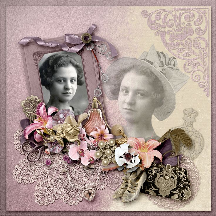 NEW Collection *Fol'Allure* by Vero & Fancy Bird Designs  http://www.digitalscrapbookingstudio.com/…/folallure-by-ve…/