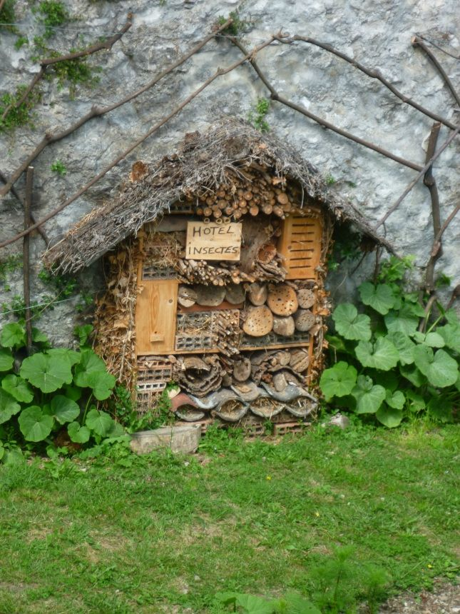 67 best images about insect hotels on pinterest gardens insect hotel and masons - Maison a insectes plan ...