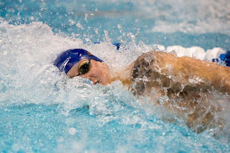 Race Video: Watch Caeleb Dressel Swim 18.23 in 50 Yard Freestyle