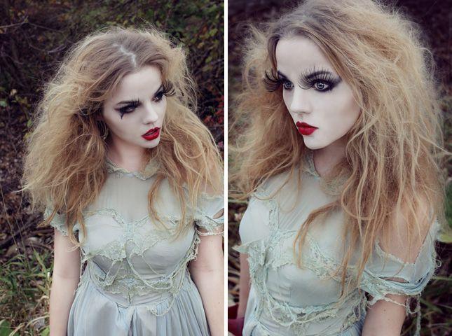 Bride of Frankenstein Makeup Ideas | Burton's Doll : Creepy dolls are definitely creepy, and the ...
