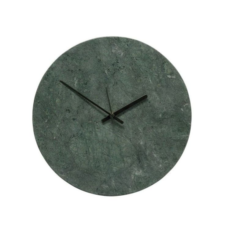 Horloge Murale Ronde Marbre – Taille : Taille Unique