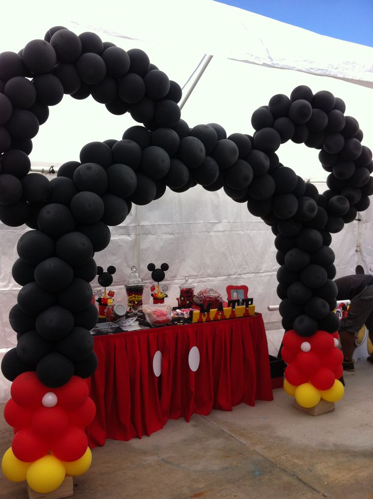 136 Best Mickey Mouse Party Images On Pinterest Mickey