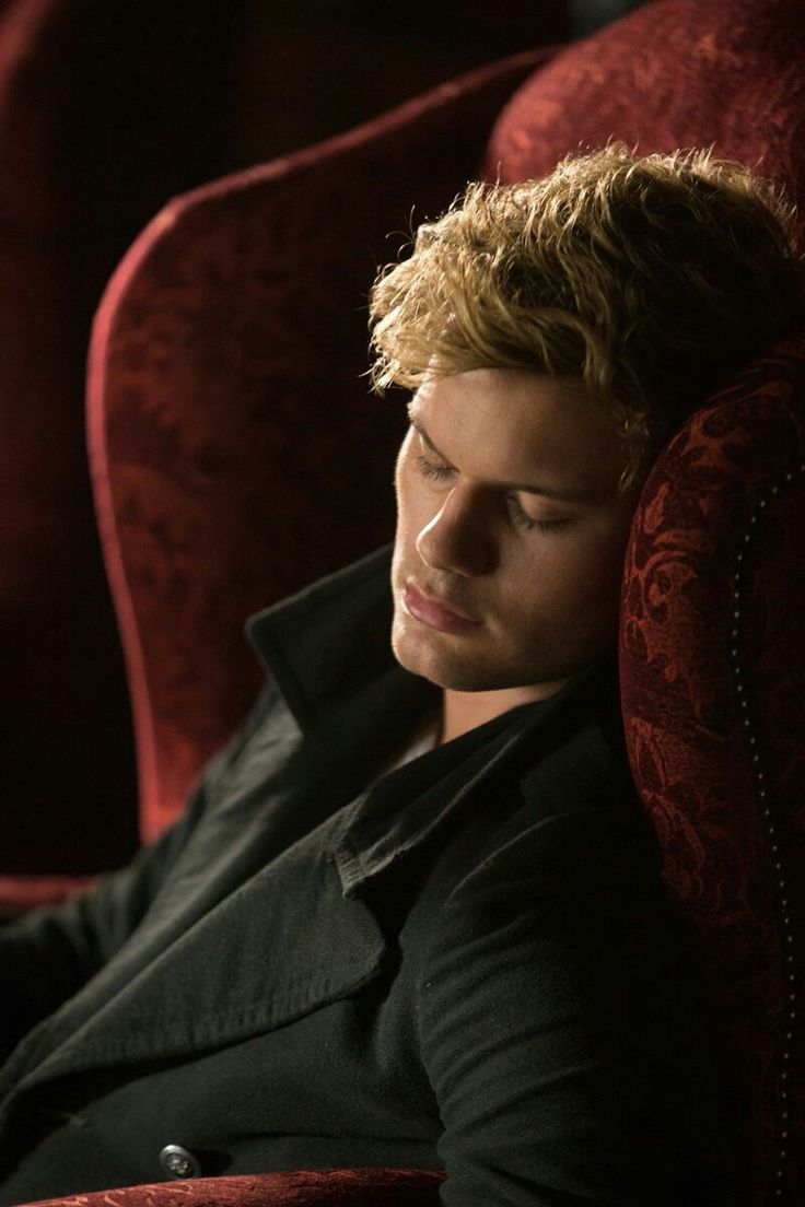Daniel Grigori portrayed by Jeremy Irvine. Sleeping