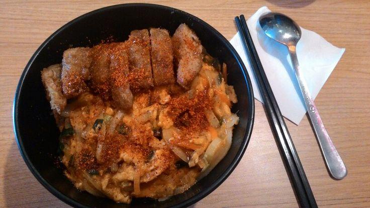 Chicken katsu don at negiya citiwalk