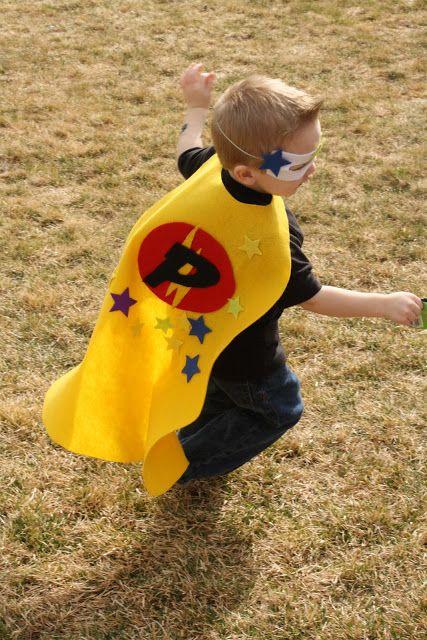 Patterns to make Superhero costumes, kids size