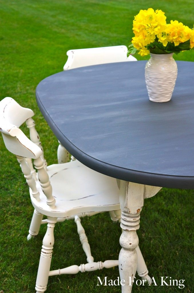 Shabby Chic Dining Table Chairs Via Popular