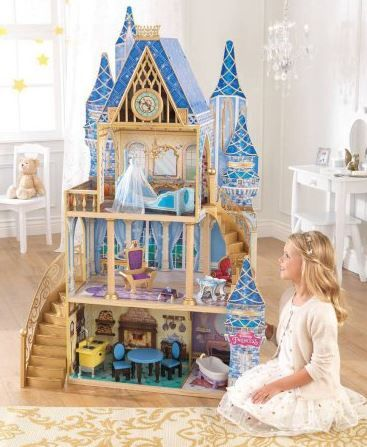 Disney Princess Cinderella Royal Dreams Dollhouse with Furniture by KidKraft $88 Shipped (Retail $149)