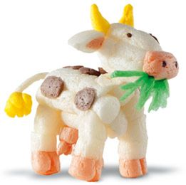 Green4Kids - Nachhaltiges Spielzeug im Onlineshop | Playmais ONE Kuh | Sicheres Spielzeug für Baby und Kinder