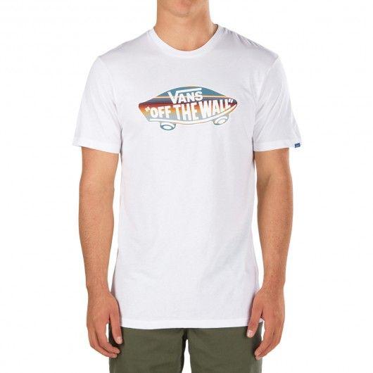 VANS tee-shirt enfants Logo Fill white - blue mirage rockaway stripe 25,00 € #skate #skateboard #skateboarding #streetshop #skateshop @playskateshop