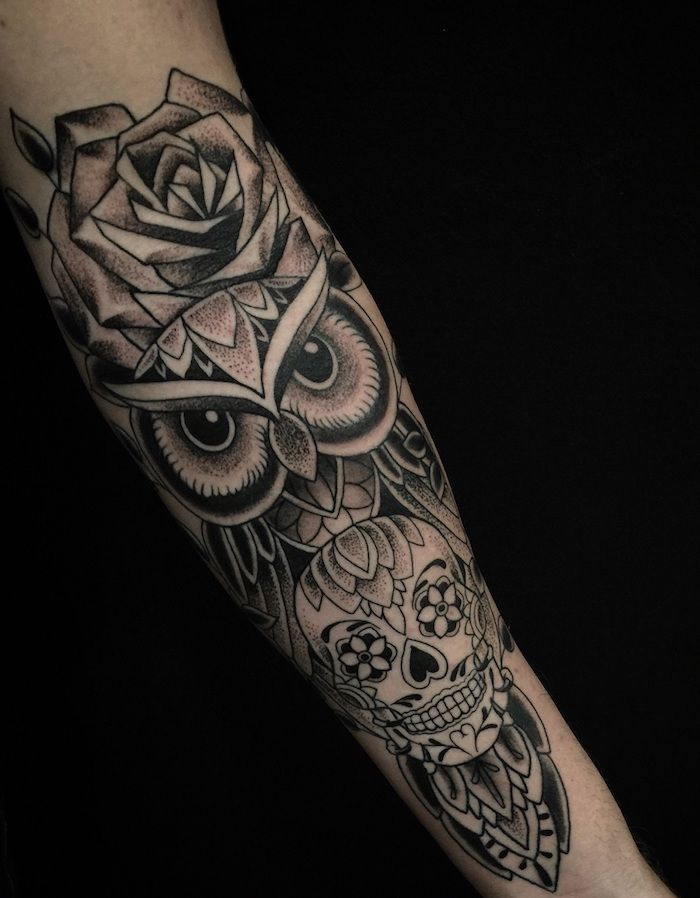 rosen tattoo mann best owl tattoos ideas with images with. Black Bedroom Furniture Sets. Home Design Ideas