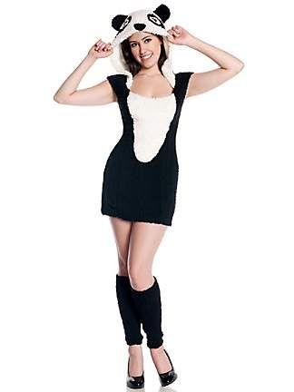 TEEN PANDA COSTUME: Teen Costumes, 2014 Costumes, Teen Pandas, Halloween Costumes, Panda Costumes, Pandas Costumes
