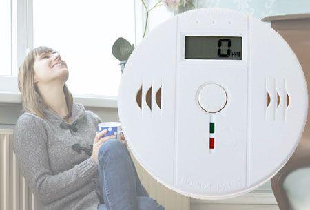 Koolmonoxidemelder nu slechts €12,95 | Zorg voor extra veiligheid in huis