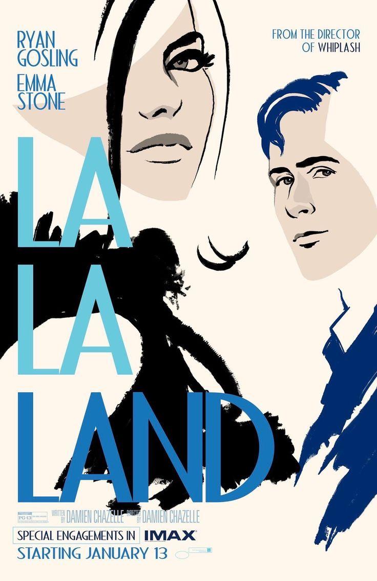 La La Land IMAX Poster (2016) [1327 x 2048]. wallpaper/ background for iPad mini/ air/ 2 / pro/ laptop @dquocbuu