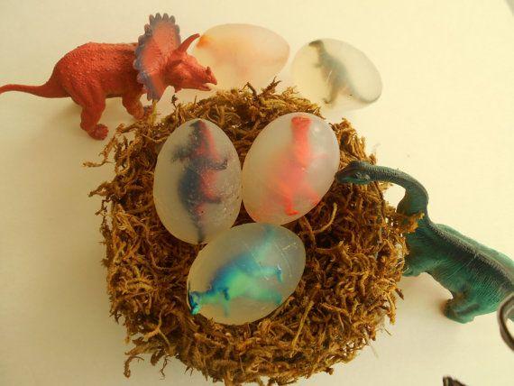 Dinosaur Eggs Soap Dinosaur Dinosaur Soap by ConversationSoap