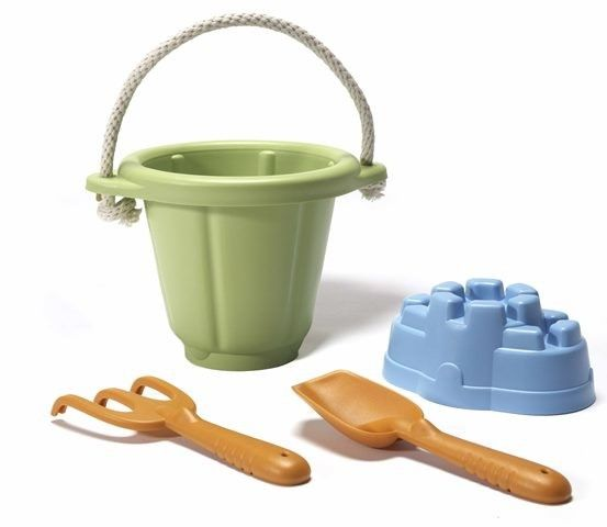 Green Toys - Eco Friendly Sand Set  More fun for the beach with the kids. #pintowin #entropywishlist
