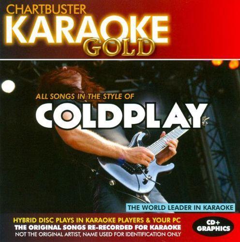 Chartbuster Karaoke Gold: Coldplay [CD]