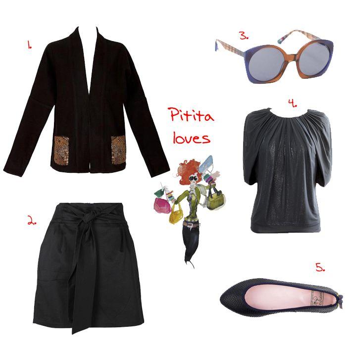 PITITA LOVES - El blog de Pitita #moda #look #black #totalblack #totallook
