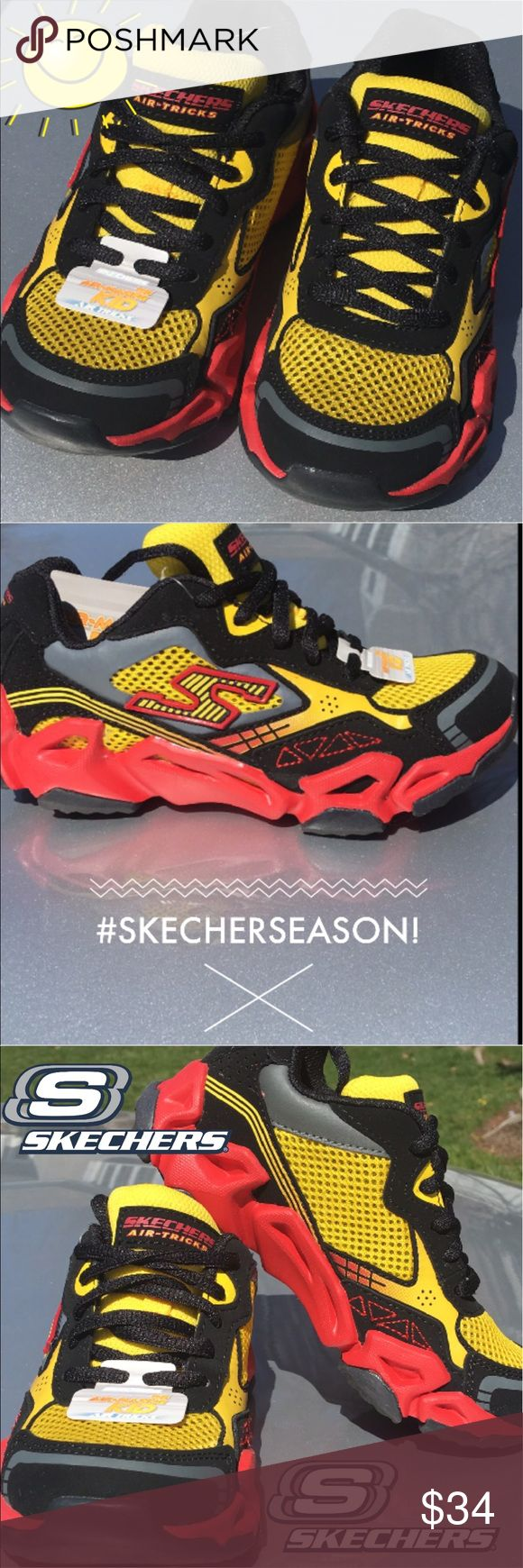 New Skechers Sneakers for Boys! New Skechers Sneaker for Boys last Pair sale size 13....was $54 now only $34... 😊😊😊 Skechers Shoes Sneakers