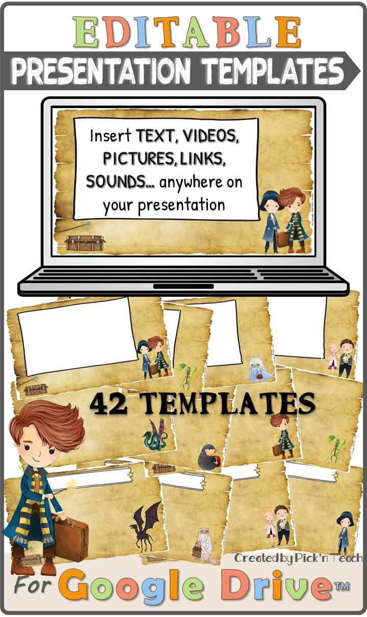 Some More Presentation Templates I Created For My Harry Potter Fantastic Beasts Fans This Year You Will Teaching Elementary Vocabulary Activities Teaching