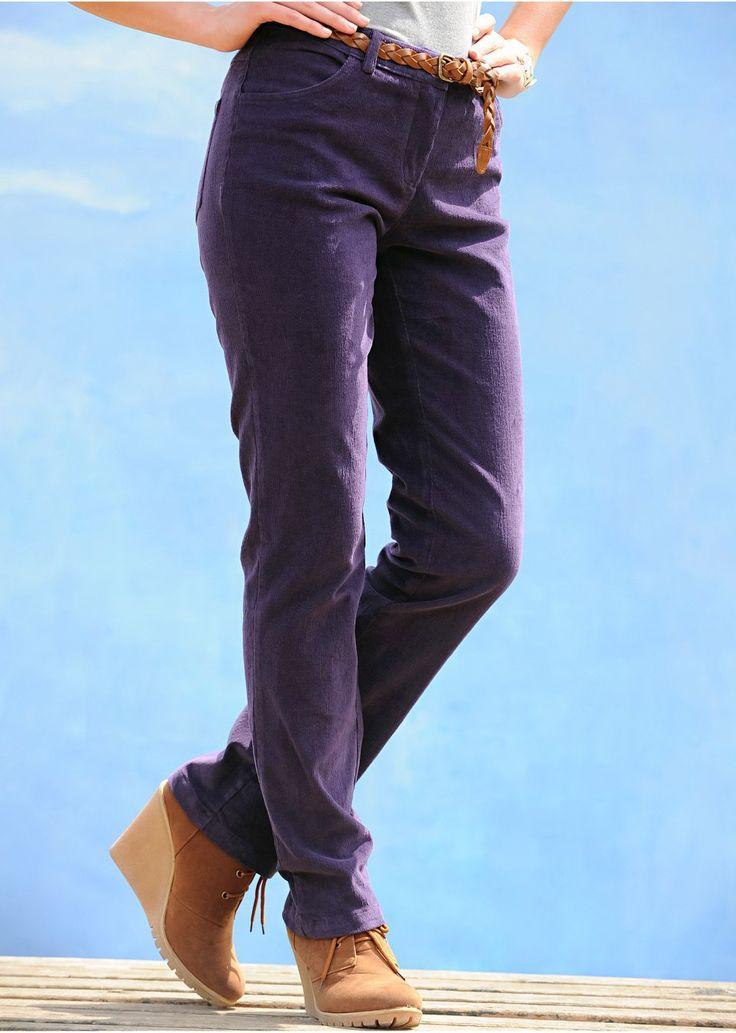 Strečové kordové nohavice Nohavice so 4 • 19.99 € • bonprix