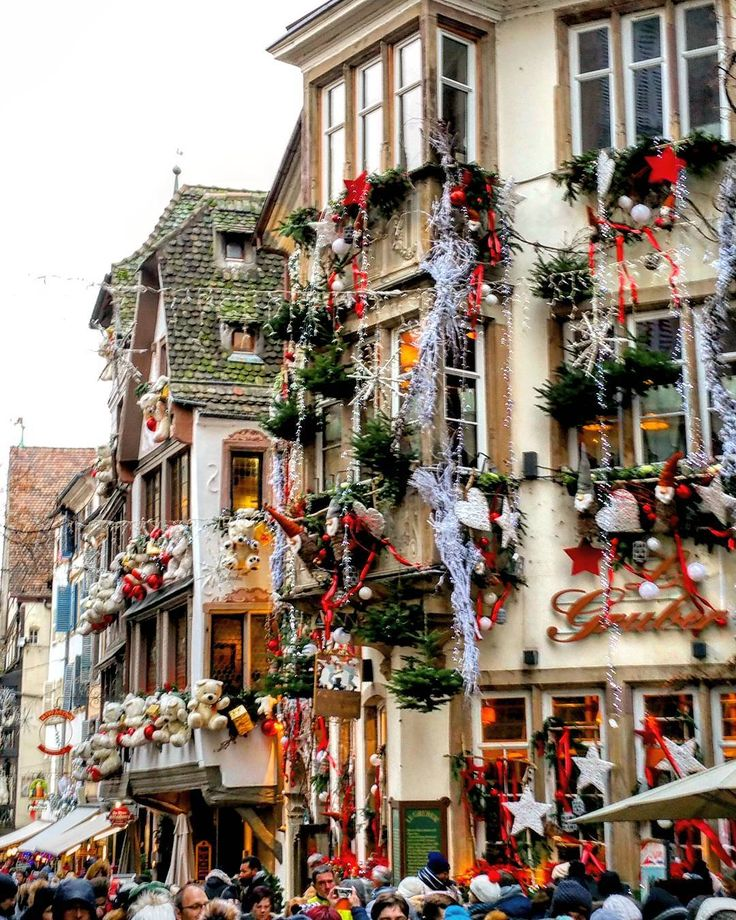 Rue du Maroquin, Strasbourg O Holy Night! in 2019