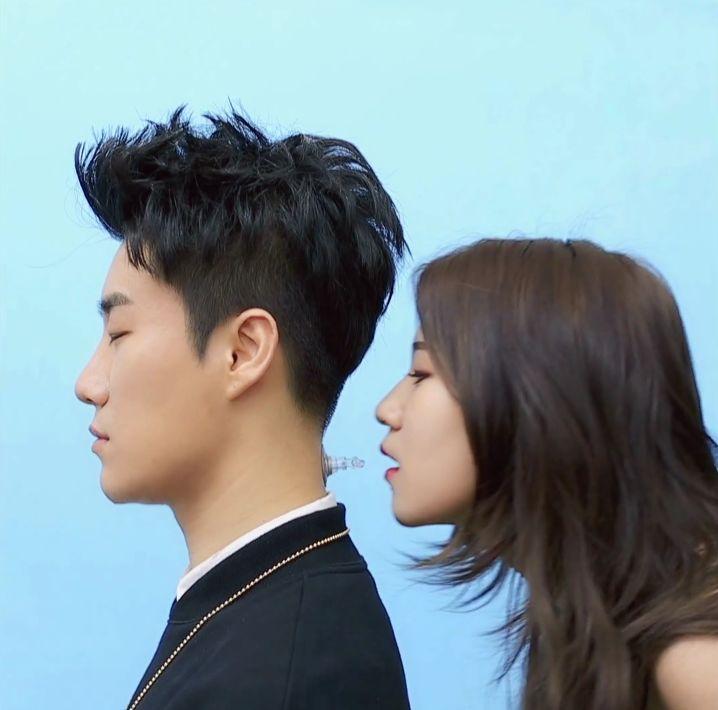 "San E Transforms into 15& Baek Yerin's Inflatable BF in ""Me You"" MV"