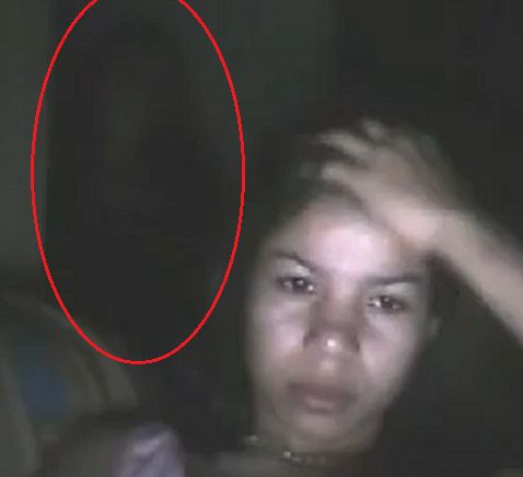Scary Ghost | This scary and real ghost videos were recorded by webcams all around ...
