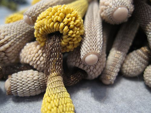Tzuri Gueta jewelry - silicone injected into fabric ...