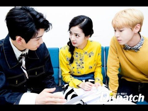 BackStage  Moment!!! Blackpink Jisoo, Got7's Jinyoung and NCT's Doyoung ...