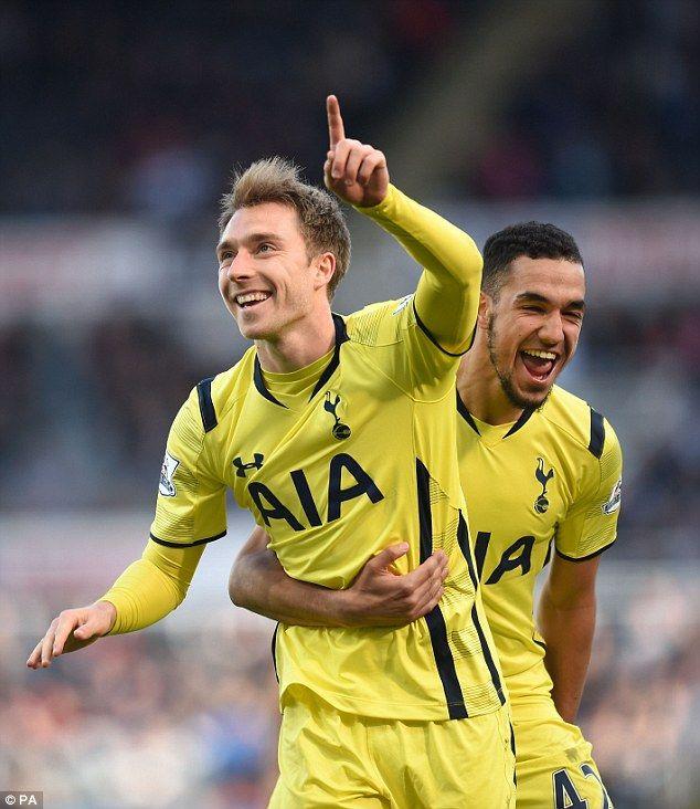 Christian Eriksen In Tottenham Hotspur V Newcastle United: 17 Best Images About Tottenham Hotspur FC On Pinterest