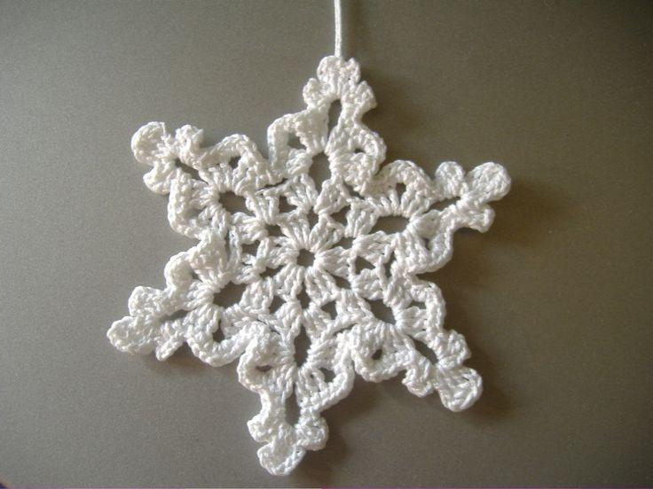 cserélem a képet, amint sikerül egy jobb minőséget kihoznom magamból :)) Végre egy igazi hópehely minta! Nyomtatott mintáját Judittól ...