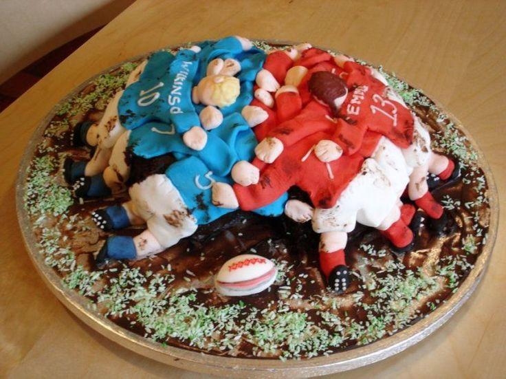 Rugby Cake Debora 2014