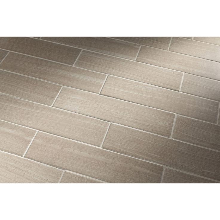 Leonia Silver Glazed Porcelain Indoor/Outdoor Floor Tile (Common ...