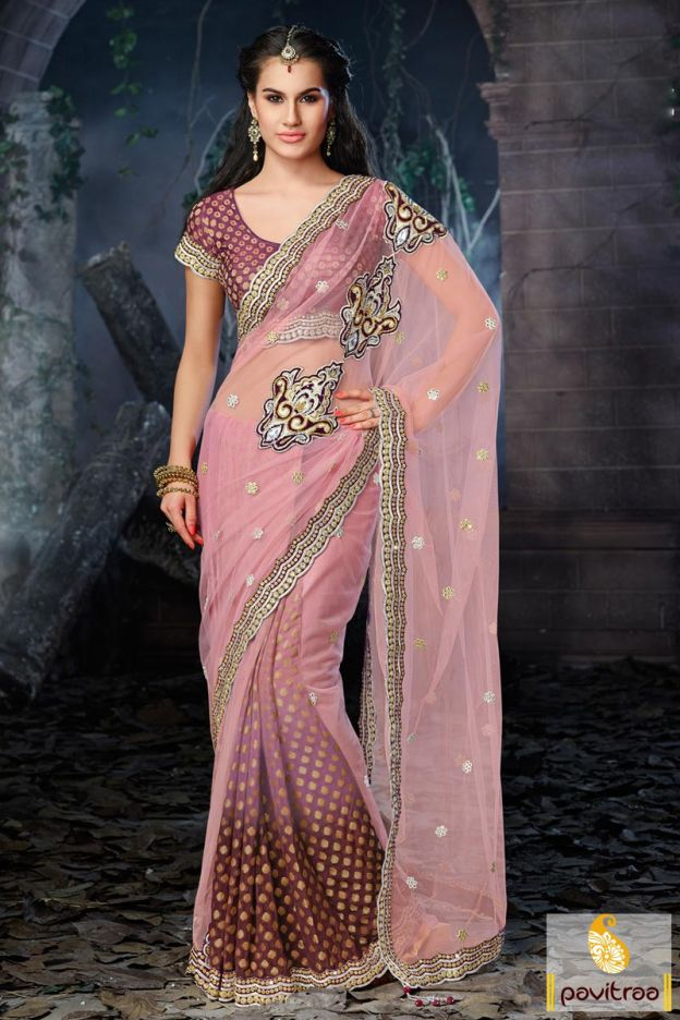 Stunning magenta art silk designer party wear saree will give you a fabulous look with nice patch work designs, unstiched blouse, standard size matching patticoat and chic butti works on the attire. #saree, #silksaree, #pavitraa, #sarees, #designersarees, #partywearsaree, #weddingsarees, #casaulsaree, #bridalsarees, #bollywoodsarees, #printedsarees, #onlinesarees, #onlineshopping, #lehengasarees