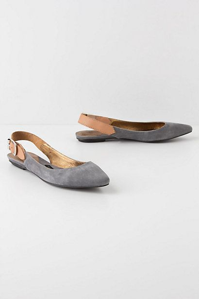 Slingback SkimmersShoes, Fashion, Style, Diy Art, Anthropologie Bag, Woman Clothing, Grey, Anthropologie Flats, Slingback Skimmer