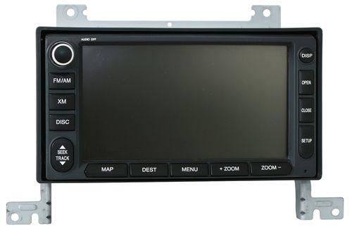 2007-2009 Hyundai Santa Fe Navigation Radio AM FM DVD MP3 CD Sat GPS LAN-8670NH3