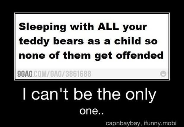 sleeping with stuffed animals