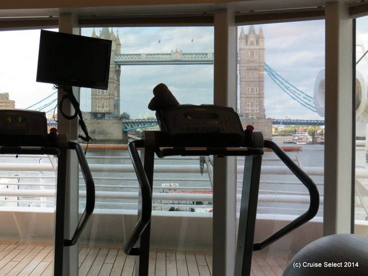Seadream I -  GYM - At London Tower Bridge